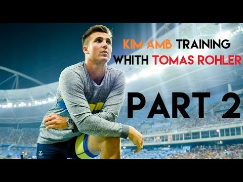 Kim Amb / Training with Thomas Rohler / Jena / Part 2