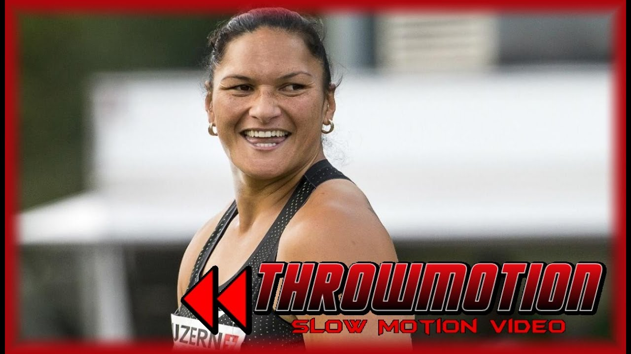 Valerie Adams | Throwsmotion | SLOW MOTION TECHNIQUE