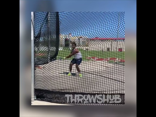 NCAA | Hammer, Discus & Shotput throws | Competition March 2021