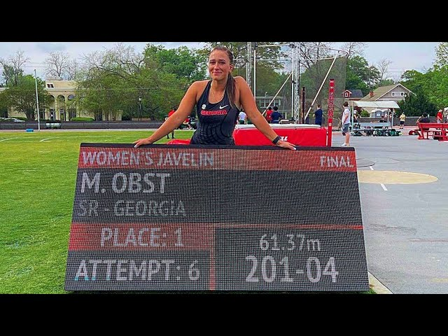 Marie-Therese Obst #Javelin thrower | Breaking 60m after 7 Long years. |  + INTERVIEW