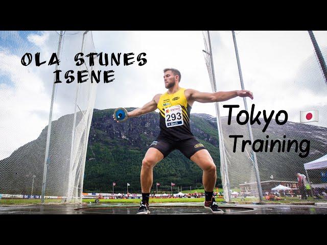Ola Stunes Isene | Tokyo Olympics | Training