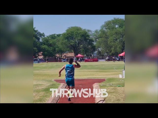 🇿🇦 Ulrich van Tonder 69.71 - Mens javelinthrow 2021
