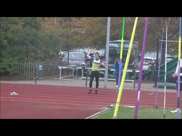 🇧🇪 Javelin thrower - Timothy Herman 77.13