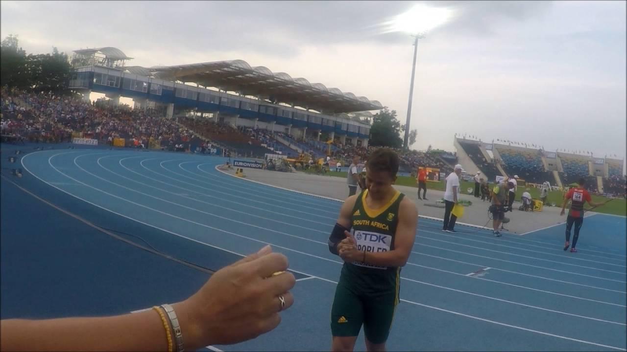 80.59m Johan Grobler Silver at world Champs
