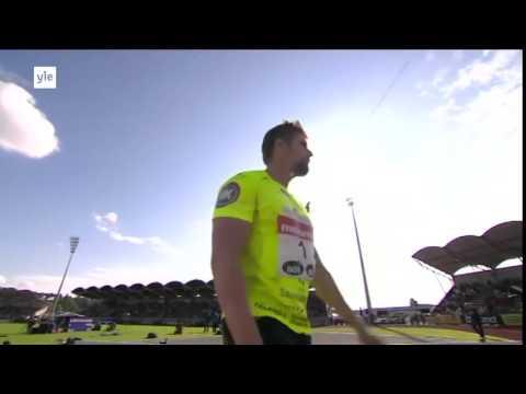 Antti Ruuskanen 88.98M New PB - 2015 HD