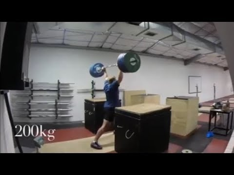 THE POWER (IN THE GYM) OF JACKO GILL (WORLD CLASS SHOT PUTTER).