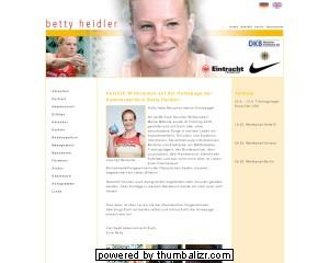 Betty Heidler